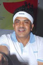 Sanjay Nirupam at The Walkathon 2013 flagged by MP Sanjay Nirupam on World Heart Day in Mumbai on 28th Sept 2013 (21).JPG