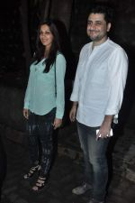 Sonali Bendre, Goldie Behl at Gori Tere Pyaar Mein wrap up Party in Mumbai on 28th Sept 2013 (30).JPG