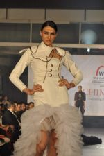 Model on the ramp for Chimera fashion show for students in Mumbai on 30th Sept 2013 (107).JPG