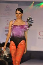 Model on the ramp for Chimera fashion show for students in Mumbai on 30th Sept 2013 (40).JPG