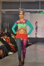 Model on the ramp for Chimera fashion show for students in Mumbai on 30th Sept 2013 (47).JPG