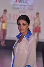 Model on the ramp for Chimera fashion show for students in Mumbai on 30th Sept 2013 (56).JPG