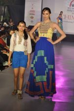 Model on the ramp for Chimera fashion show for students in Mumbai on 30th Sept 2013 (58).JPG