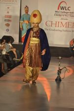 Model on the ramp for Chimera fashion show for students in Mumbai on 30th Sept 2013 (65).JPG