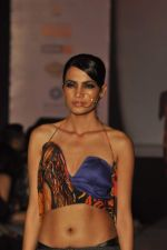 Model on the ramp for Chimera fashion show for students in Mumbai on 30th Sept 2013 (71).JPG