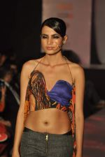 Model on the ramp for Chimera fashion show for students in Mumbai on 30th Sept 2013 (72).JPG