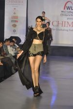 Model on the ramp for Chimera fashion show for students in Mumbai on 30th Sept 2013 (83).JPG