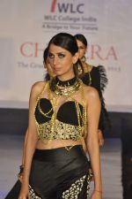 Model on the ramp for Chimera fashion show for students in Mumbai on 30th Sept 2013 (84).JPG