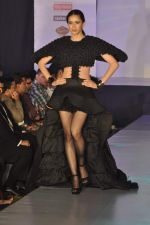 Model on the ramp for Chimera fashion show for students in Mumbai on 30th Sept 2013 (92).JPG