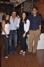 Neelam Kothari, Samir Soni at Renu Chaniani and Vineet Khosla_s Tempesta Luxury launch in Eastern Treasure, Bandra on 1st Oct 2013 (36).JPG