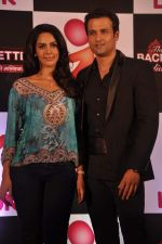 Mallika Sherawat, Rohit Roy at preview of Life Ok Bachelorette India launch in Trident, Mumbai on 3rd Oct 2013 (11).JPG