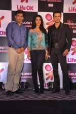 Mallika Sherawat, Rohit Roy at preview of Life Ok Bachelorette India launch in Trident, Mumbai on 3rd Oct 2013 (12).JPG
