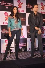 Mallika Sherawat, Rohit Roy at preview of Life Ok Bachelorette India launch in Trident, Mumbai on 3rd Oct 2013 (3).JPG