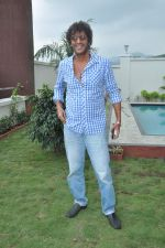 Chunky Pandey at a real estate project launch in Khapoli, Mumbai on 6th Oct 2013 (10).JPG