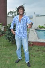 Chunky Pandey at a real estate project launch in Khapoli, Mumbai on 6th Oct 2013 (7).JPG