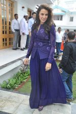 Neha Dhupia at a real estate project launch in Khapoli, Mumbai on 6th Oct 2013 (69).JPG
