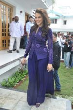 Neha Dhupia at a real estate project launch in Khapoli, Mumbai on 6th Oct 2013 (72).JPG