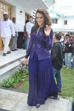 Neha Dhupia at a real estate project launch in Khapoli, Mumbai on 6th Oct 2013 (74).JPG