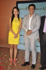 Govinda, Puja Banerjee launched his music album Gori Tere Naina in Mumbai on 7th Oct 2013 (35).JPG