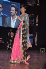 Mandira bedi at Dr Batra_s Positive awards in NCPA, Mumbai on 8th Oct 2013 (79).JPG