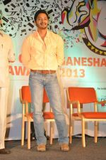 Shreyas Talpade at Times Green Ganesha event in YB, Mumbai on 8th Oct 2013 (24).JPG