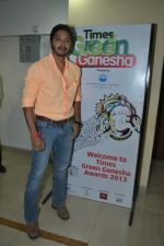 Shreyas Talpade at Times Green Ganesha event in YB, Mumbai on 8th Oct 2013 (7).JPG