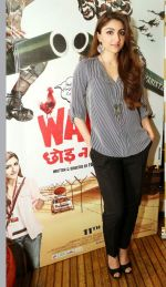 Soha Ali Khan promotes War Chhod Na Yaar in Delhi on 8th Oct 2013 (6).JPG