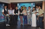 Armeena Rana Khan, Pushkar Jog, T P Aggarwal, Kunal Ganjawala, Clinton Cerejo, Salim merchant at Music Launch of Huff Its Too Much in Bandra, Mumbai on 9th Oct 2013 (125).JPG