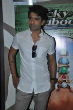 Eijaz Khan at the First look of the film Lucky Kabootar in Inorbit Mall, Malad, Mumbai on 9th Oct 2013 (25).JPG