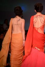 Anjali Abrol, Urvashi Rautela walks for SOLTEE BY SULASKSHANA at Wills day 5 on WIFW 2014 on 13th Oct 2013 (134)_525cb76b7d626.JPG