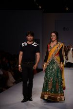 Raima Sen walks for Joy Mitra at Wills day 5 on WIFW 2014 on 13th Oct 2013 (22)_525cb4f33040b.JPG