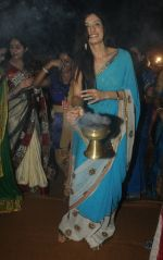 Tanya Malik  at Dussera celebration at Andheri Durgautsav,spearheaded by Krishendu Sen in Mumbai on 13th Oct 2013 (3)_525cbee1b2cec.JPG