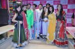 Krystle D�Souza, Sukirti Kandpal , Divyanka Tripathi, Asha Negi, Rajesh Kumar at Telly Calendar launch with Bawree Fashions to be shot in Malaysia on 15th Oct 2013 (146)_525ff08dd7c6a.JPG