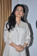 Juhi Chawla at a press meet to discuss radiation caused by mobile towers in Press Club, Mumbai on 17th Oct 2013 (1)_5260ace1978bf.JPG