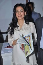 Juhi Chawla at a press meet to discuss radiation caused by mobile towers in Press Club, Mumbai on 17th Oct 2013 (19)_5260ad55e8837.JPG