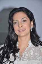 Juhi Chawla at a press meet to discuss radiation caused by mobile towers in Press Club, Mumbai on 17th Oct 2013 (23)_5260ad7e7d8b7.JPG