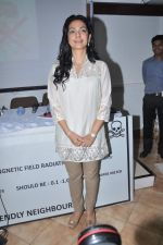 Juhi Chawla at a press meet to discuss radiation caused by mobile towers in Press Club, Mumbai on 17th Oct 2013 (25)_5260ad98199a3.JPG
