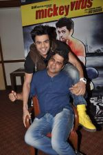 Manish Paul at Mickey Virus interview in Raheja Classique, Mumbai on 19th Oct 2013 (63)_5263db5a74d22.JPG