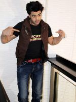 Manish Paul at Mickey Virus promotions in Delhi on 21st Oct 2013 (21)_52667394504cf.JPG
