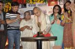 Pandit Jasraj, Durga Jasraj at Marathi music Awards press meet in Andheri, Mumbai on 23rd Oct 2013 (124)_52691595c1473.JPG