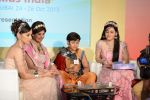 Lavina Tandon, Sharmilee Raj, Aditi Sajwan, Dev Joshi at Toy Craft_s game launch based on SAB TV_s show Baal veer in Goregaon, Mumbai on 24th Oct 2013 (13)_526a3d43034ac.JPG