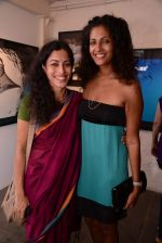 sheetal menon with sheetal mallar at Gallery 7 for Sumer Verma exhibition in Mumbai on 26th Oct 2013_526ce84d4c946.JPG