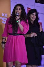 Vidya Balan, Ekta Kapoor at Trailer launch of Shaadi Ke Side Effects in Mumbai on 28th Oct 2013 (46)_526f8fbb662e9.JPG