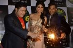 Shilpa Shetty, Sajid Khan, Terence Lewis  at the celebration of Diwali on the sets of Nach Baliye in Filmistan, Mumbai on 31st Oct 2013 (113)_5273c39fa5900.JPG