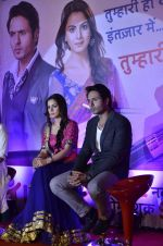 Shraddha Arya, Iqbal Khan at Life Ok launches Tumhari Paakhi based on Sarat Chandra_s classic Navvidhaan in Filmcity, Mumbai on 31st Oct 2013 (37)_5273c326da2fe.JPG