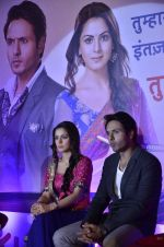 Shraddha Arya, Iqbal Khan at Life Ok launches Tumhari Paakhi based on Sarat Chandra_s classic Navvidhaan in Filmcity, Mumbai on 31st Oct 2013 (48)_5273c32853776.JPG