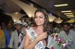 Srishti Rana, Miss Asia Pacific World 2013 winner returns from Korea on 4th Nov 2013 (52)_527901db44f5d.JPG