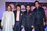 Amitabh Bachchan, Pankaj Udhas, Talat Aziz, Anup Jalota at the launch of Sumeet Tappoo_s album Destiny in Novotel, Mumbai on 5th Nov 2013 (21)_527a3e14510a0.JPG