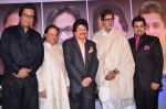 Amitabh Bachchan, Pankaj Udhas, Talat Aziz, Anup Jalota at the launch of Sumeet Tappoo_s album Destiny in Novotel, Mumbai on 5th Nov 2013 (73)_527a3e149e187.JPG