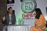 Vikramaditya Motwane, Anupama Chopra at Done in 60 Seconds-The Shortest of Short Film Competitions is back for the Jameson Empire Awards 2014 on 13th Nov  (7)_528516a884f72.JPG